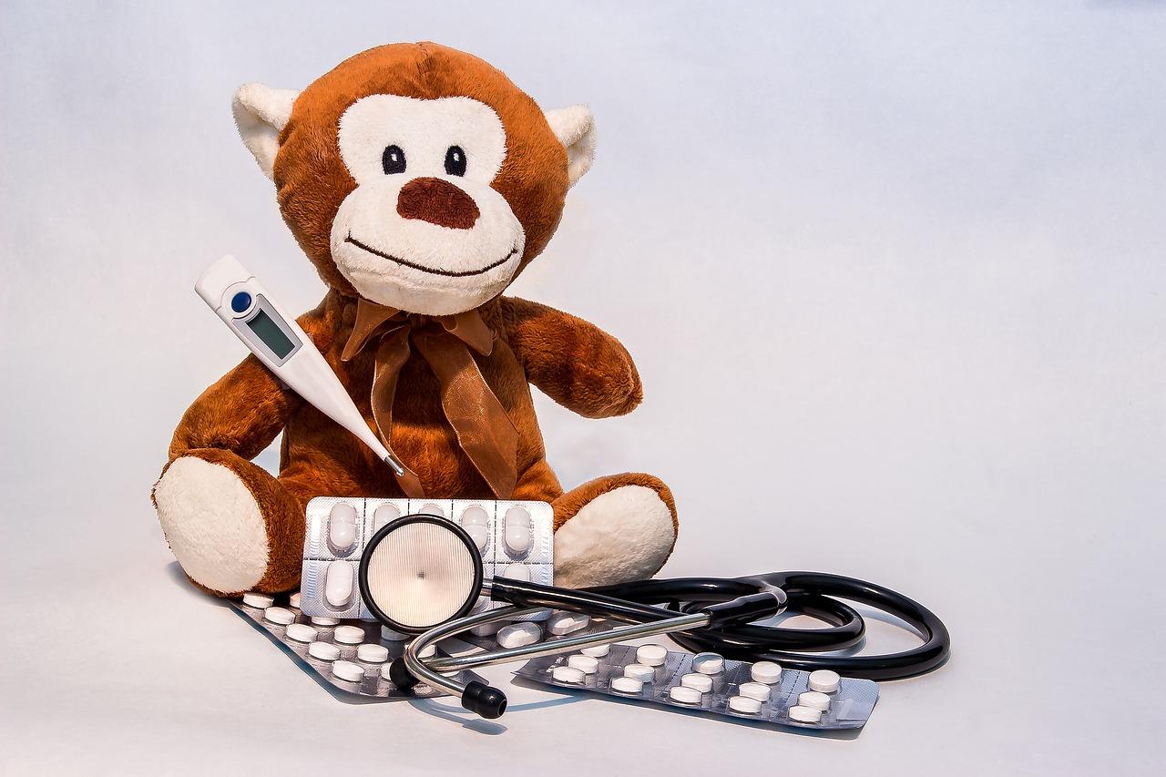 DHQSS Stirnthermometer Ohrthermometer Fieberthermometer Erwachsene und Objekte,1 Sekunde Messzeit Hochtemperaturalarm,Blau Thermometer f/ür Babys Speicherfunktion